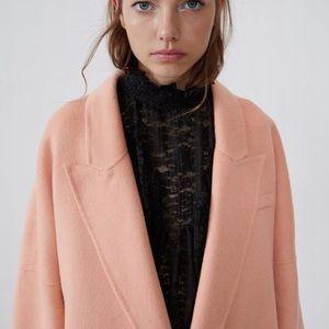 Zara Jackets & Coats - Oversized double breasted coat trench